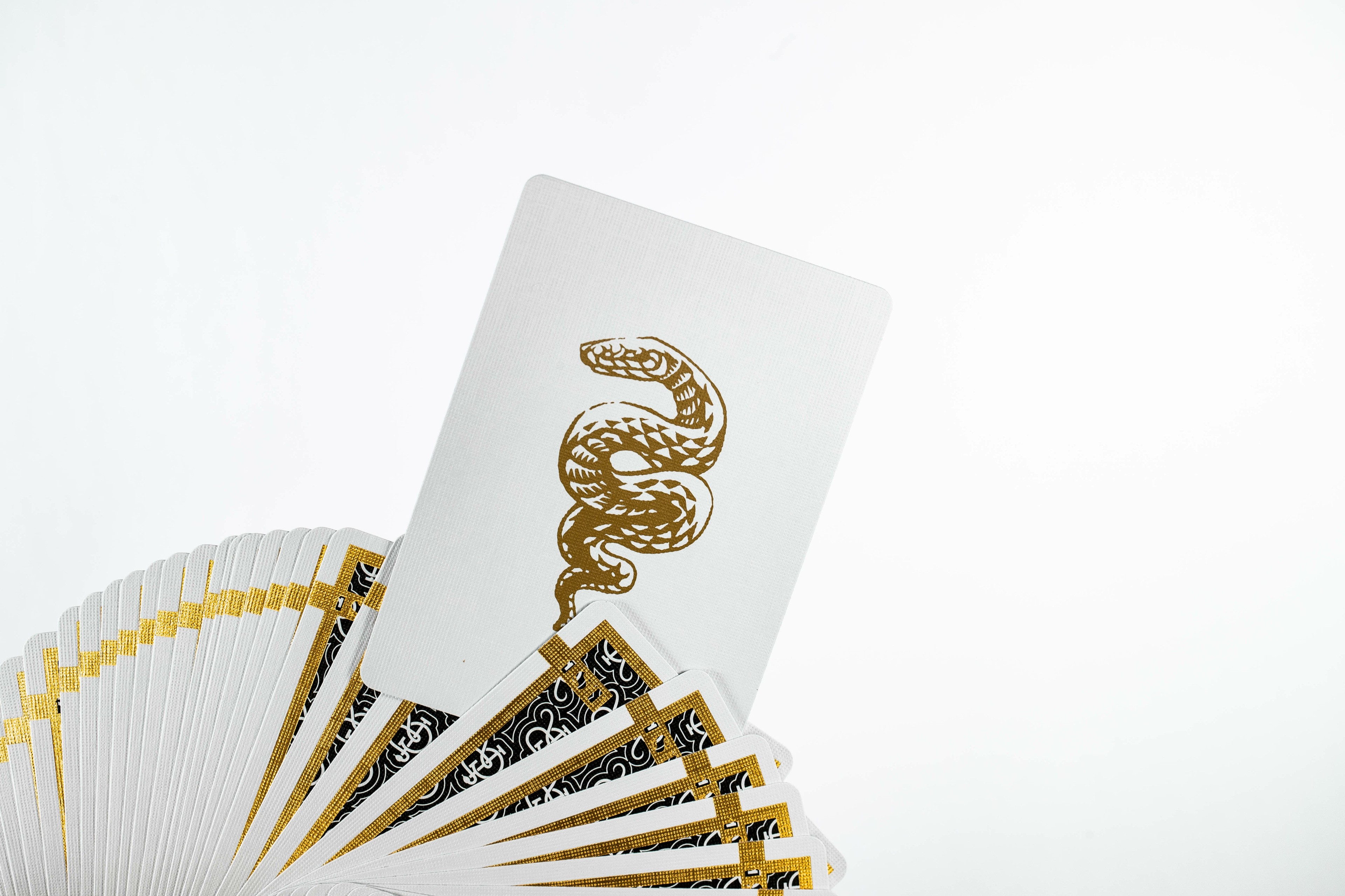 1st Playing Cards V2 by Chris Ramsay Black and Gold
